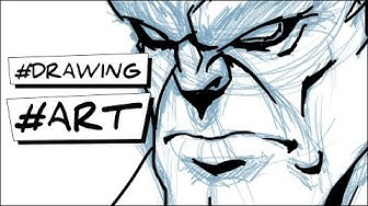 comment dessiner un portrait de hulk etape par etape facilement tutoriel how to draw hulk face easy step by step