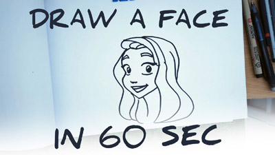 comment dessiner un visage etape par etape facilement tutoriel how to draw a face easy step by step